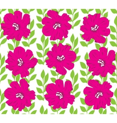 Floral seamles background vector