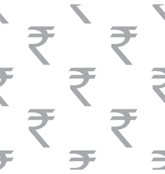 New rupee seamless pattern vector