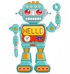 Hello robot vector
