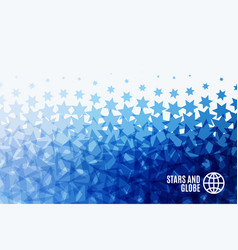 Abstract design elements with stars for fun vector