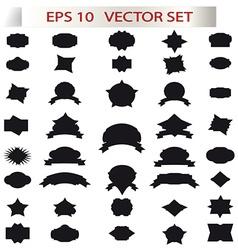 Retro elements vector image