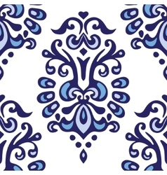 Abstract seamless ornamental pattern for fabric vector