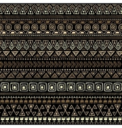 Ethnic tribal seamless pattern vector