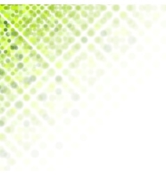 Bright green abstract shiny background vector image