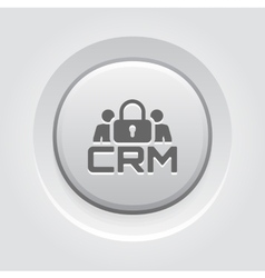 CRM Security Icon vector image