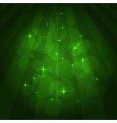 soccer green field vector image