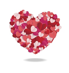 Valentines heart 02 vector image