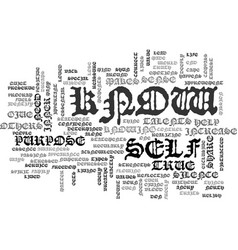 Who are you text word cloud concept vector