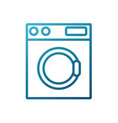 Washer machine appliance vector