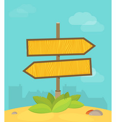 Abstract strategy concept in flat style - road vector