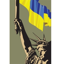 Call for democracy in ukraine vector