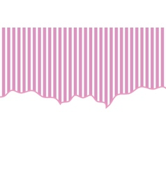 striped background pink and white vector image vector image