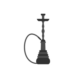 Hookah icon in flat style vector image