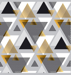 Gold and black color creative repeatable motif vector
