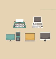 245computer evolution vector