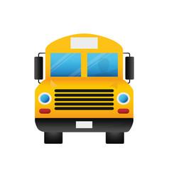 school bus vehicle vector image