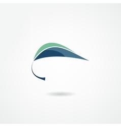 Green design vector image