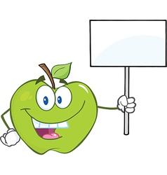 Apple cartoon vector image vector image