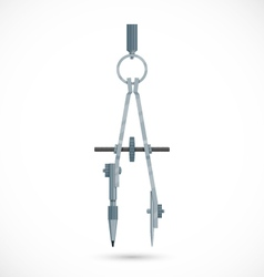 Pair of compasses vector