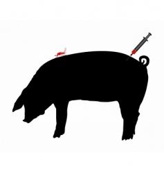 Pig immunization vector