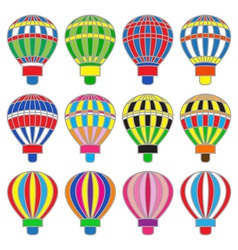 aerostat vector image vector image