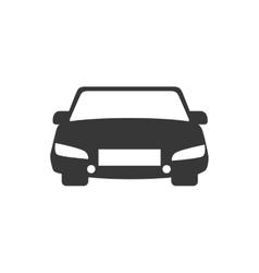 car auto front icon graphic vector image