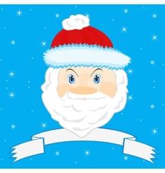 Festive Santa Claus vector image vector image
