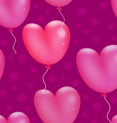 Happy Valentines Day Pattern vector image
