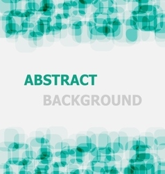 Abstract green rounded rectangle overlapping vector