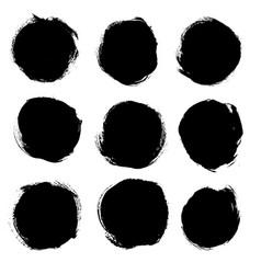 Set of hand drawn grunge elements vector