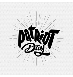 Patriot day badges logos and labels for any use vector