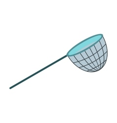 Fishing net icon vector