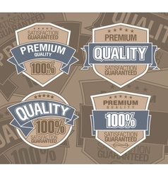 premium label vector image