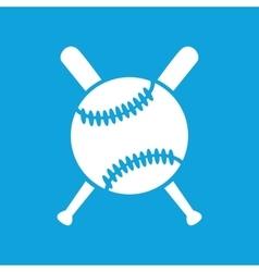Baseball icon 2 simple vector image vector image