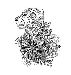 Cheetahgraphic vector