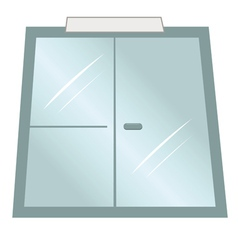 doors office vector image vector image