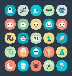 Halloween icons 3 vector