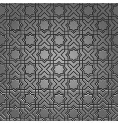 metallic pattern vector image vector image