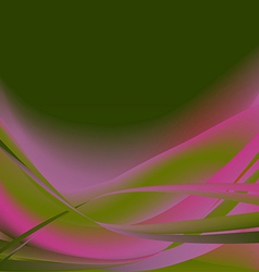 Colorful flower isolated abstract background dark vector image