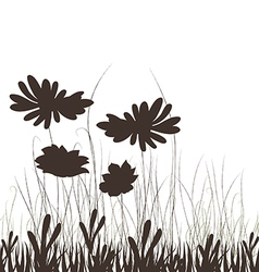 Meadow plants vector