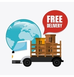 Delivery and logistics vector