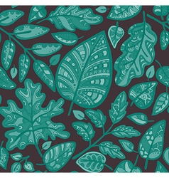 Decorative ornamental seamless pattern Endless vector image vector image