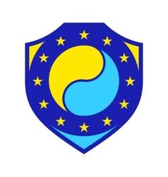 EU accession sign vector image