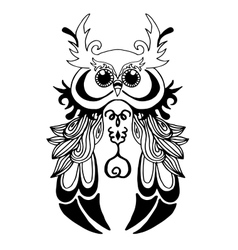 Very High quality owl or filin for coloring or vector image