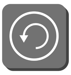 Rotate ccw rounded square icon vector