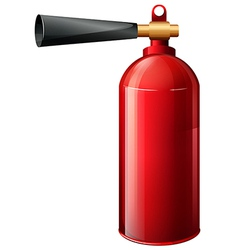 A fire extinguisher vector