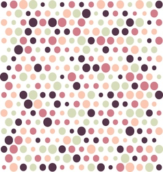Retro polka dot background vector