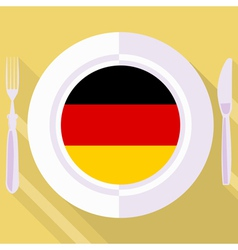 Kitchen of germany vector