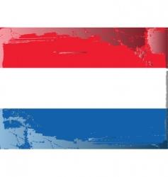 Netherlands national flag vector image