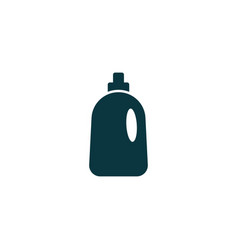 cleaning bottle icon simple vector image vector image